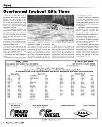 Marine News Magazine, page 8,  Feb 2005 Tim Tharp