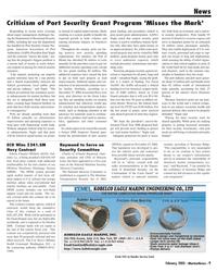 Marine News Magazine, page 9,  Feb 2005 U.S. Navy