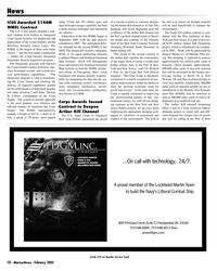 Marine News Magazine, page 10,  Feb 2005 Mississippi