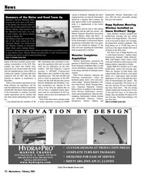 Marine News Magazine, page 12,  Feb 2005 Florida