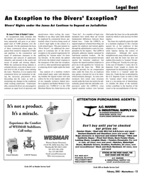 Marine News Magazine, page 13,  Feb 2005 state law exception