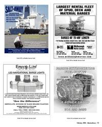Marine News Magazine, page 15,  Feb 2005 DIVISION OF ELGIN MOLDED PLASTICS WWW.EMPCO-LITE.COM