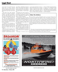 Marine News Magazine, page 16,  Feb 2005 Commercial Service