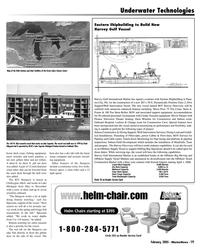 Marine News Magazine, page 19,  Feb 2005 Harvey Discovery