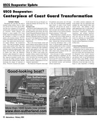 Marine News Magazine, page 22,  Feb 2005 Transformation