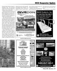 Marine News Magazine, page 23,  Feb 2005 WANT SUPERIOR QUALITY WANT SUPERIOR SERVICE