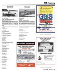 Marine News Magazine, page 25,  Feb 2005 Indiana