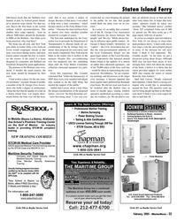 Marine News Magazine, page 33,  Feb 2005 St. George Civic Associ