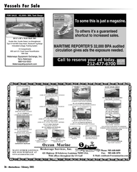 Marine News Magazine, page 36,  Feb 2005 Recertification
