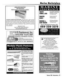 Marine News Magazine, page 37,  Feb 2005 Florida