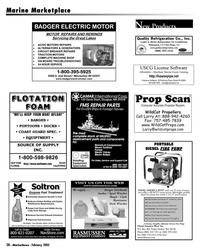 Marine News Magazine, page 38,  Feb 2005 Florida