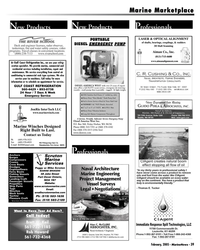 Marine News Magazine, page 39,  Feb 2005 Rob Howard