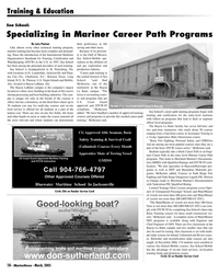 Marine News Magazine, page 18,  Mar 2005 Florida