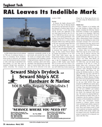 Marine News Magazine, page 20,  Mar 2005 South America
