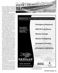 Marine News Magazine, page 23,  Mar 2005 food
