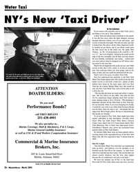 Marine News Magazine, page 26,  Mar 2005 main fast ferry services