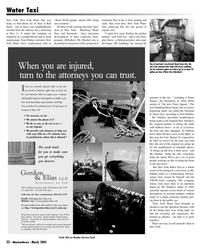 Marine News Magazine, page 32,  Mar 2005 Steve Gordon