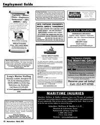 Marine News Magazine, page 42,  Mar 2005 PROGRESSIVE MARINE PERSONNEL SERVICE