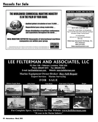 Marine News Magazine, page 44,  Mar 2005 Recertification