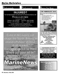 Marine News Magazine, page 48,  Mar 2005 Brett W. Keil
