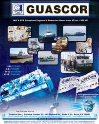 Marine News Magazine, page 3rd Cover,  Mar 2005