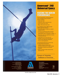 Marine News Magazine, page 5,  Mar 2005 exotic application equipment