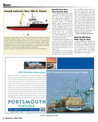 Marine News Magazine, page 6,  Mar 2005 Broward County