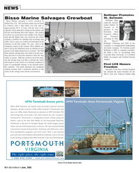 Marine News Magazine, page 18,  Jun 2005 Louisiana State University
