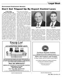 Marine News Magazine, page 21,  Jun 2005 Brian A. Bannon