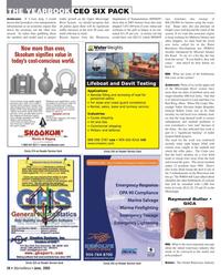 Marine News Magazine, page 26,  Jun 2005