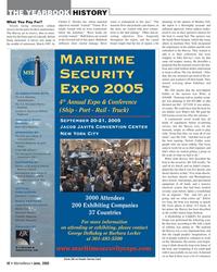 Marine News Magazine, page 42,  Jun 2005 Criminal Justice National Biometric Security Project ComCARE Alliance