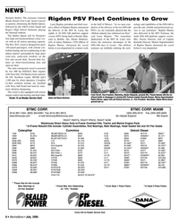 Marine News Magazine, page 8,  Jul 2005 Richard Currence