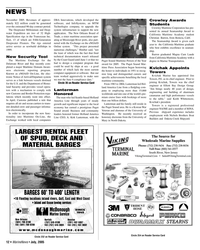 Marine News Magazine, page 12,  Jul 2005 California