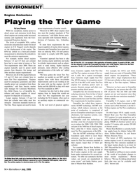 Marine News Magazine, page 14,  Jul 2005 Indiana