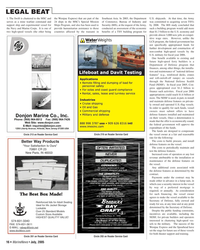 Marine News Magazine, page 16,  Jul 2005 MSC