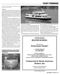 Marine News Magazine, page 19,  Jul 2005 Key West Express