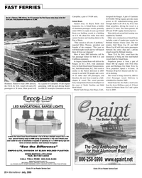 Marine News Magazine, page 20,  Jul 2005 Michigan