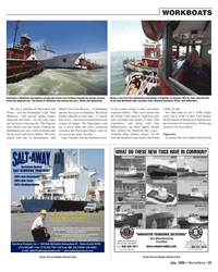 Marine News Magazine, page 25,  Jul 2005 California