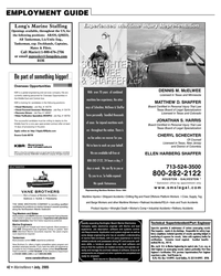 Marine News Magazine, page 42,  Jul 2005 Florida