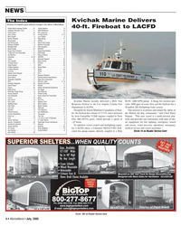 Marine News Magazine, page 4,  Jul 2005 Alaska