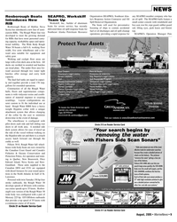 Marine News Magazine, page 9,  Aug 2005 Massachusetts