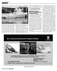Marine News Magazine, page 10,  Aug 2005 Leslie Smith
