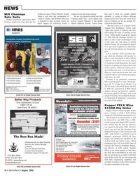 Marine News Magazine, page 12,  Aug 2005 Connecticut