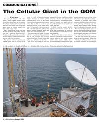 Marine News Magazine, page 20,  Aug 2005 analog technology