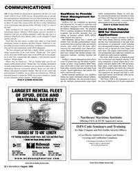 Marine News Magazine, page 22,  Aug 2005 automatic identification system