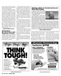 Marine News Magazine, page 24,  Aug 2005 British Columbia