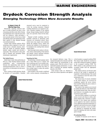 Marine News Magazine, page 25,  Aug 2005 PE Elliott Bay Design Group