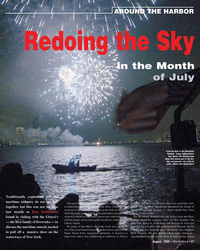 Marine News Magazine, page 27,  Aug 2005 Liberty Island