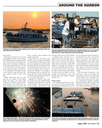 Marine News Magazine, page 29,  Aug 2005 Liberty Island