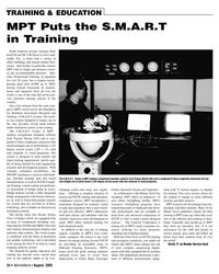 Marine News Magazine, page 35,  Aug 2005 Marine Tech Fire Academy
